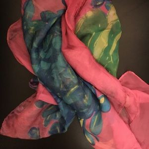 New silky scarf